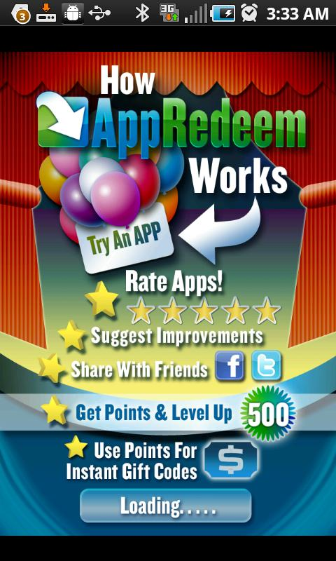 AppRedeem pays you to download and rate apps on your iPhone, iPad, iPod Touch, or Android! Download this free app at m.appredeem.com and use code 'coatblue8' for 25 bonus points after you sign up