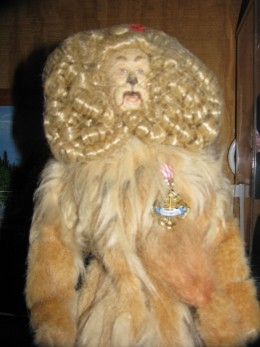 A fabulous Robert Tonner Doll...the Lion from The Wizard of Oz.