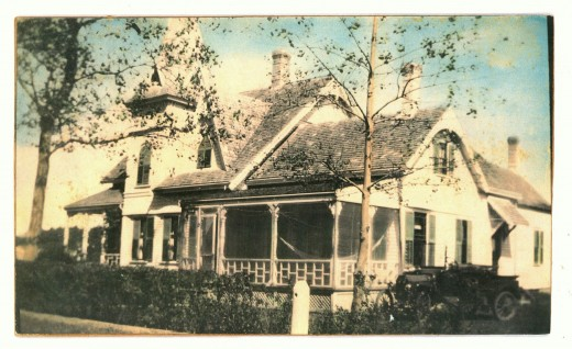 The Kelley house, early 1900s
