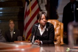 The Mayor of Philadelphia from Law Abiding Citizen played by Viola Davis.