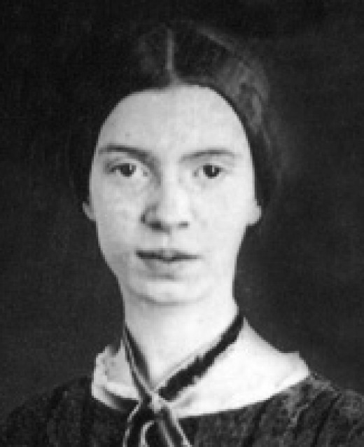 Well-known photo of Emily Dickinson