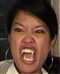 he Michelle Malkin Rabid Shape-Shifter Face Accessories