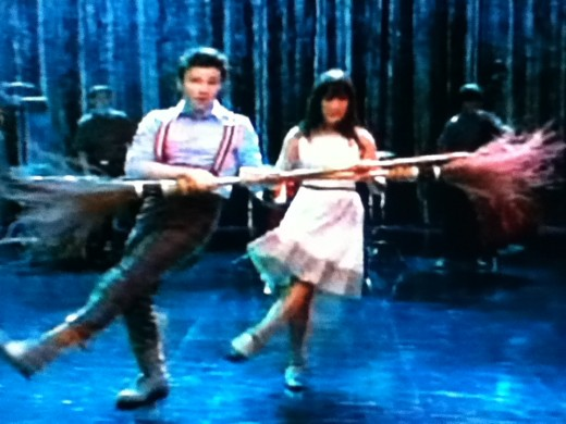 My kind of Broadway show. One starring Kurt Hummel and Rachel Berry!