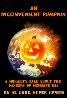 "Al Gore ""An Inconvenient Pumpkin"" book"