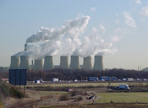 Carbon emitted in the UK.  Image courtesy Jerry Evans and Wikimedia Commons.