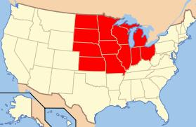 The Midwestern United States