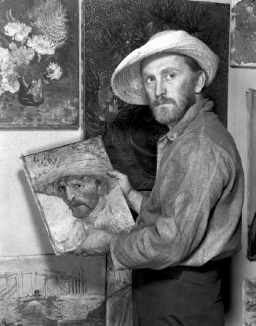 As Van Gogh, in 'Lust for Life,1956