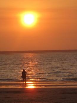 Mindal Beach sunset