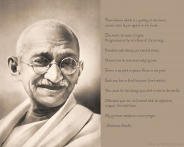 This is a wall paper that inspired me to share my views on a man whose views were truly enlightened.