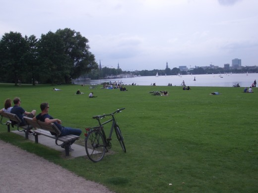 Alster Lake Hamburg