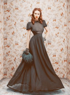 Russia Fashion: Lookbook of the Debut Collection by Uliana Sergeenko
