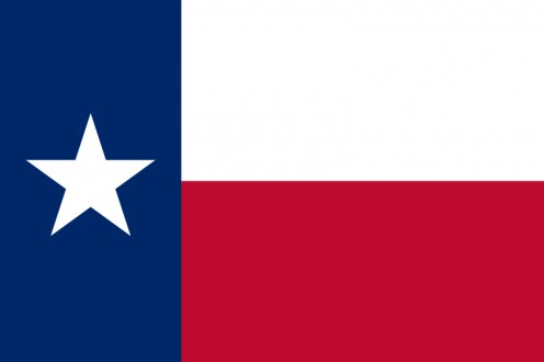 The state flag of Texas was also the flag of the Lone Star Republic