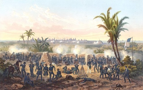 The Battle of Vera Cruz, 1846