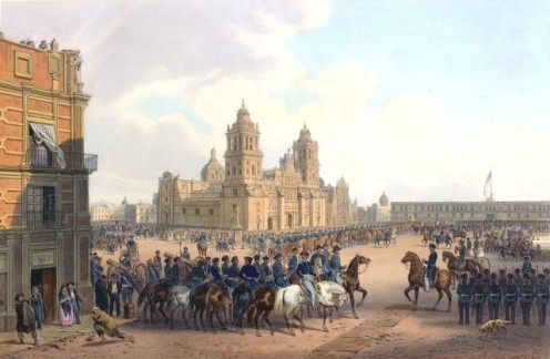 The American Occupation of Mexico City