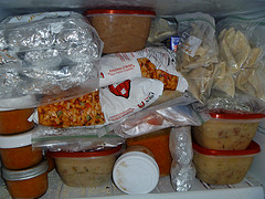 I think my own freezer may be more packed than this one!