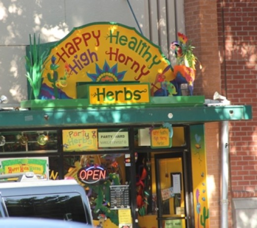 Happy Healthy High Horny Herbs