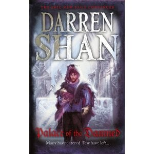 The forthcoming Palace of the Damned - the newest book in the Saga of Larten Crepsley series by Darren Shan