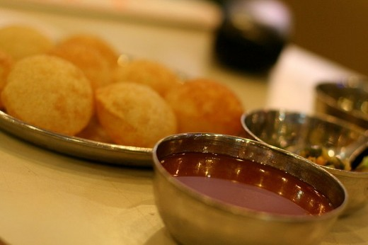 The Delicious Gol Gappe
