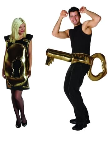 Lock and key couples costume