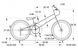 Original Concept Wireframe drawing