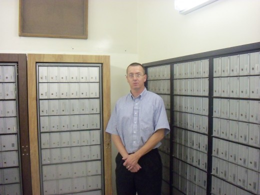 Quentin, our PostMaster