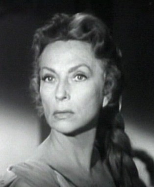 "Agnes Moorehead in ""The Bat"" (1959)"