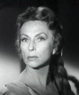 """Agnes Moorehead in """"The Bat"""" (1959)"""