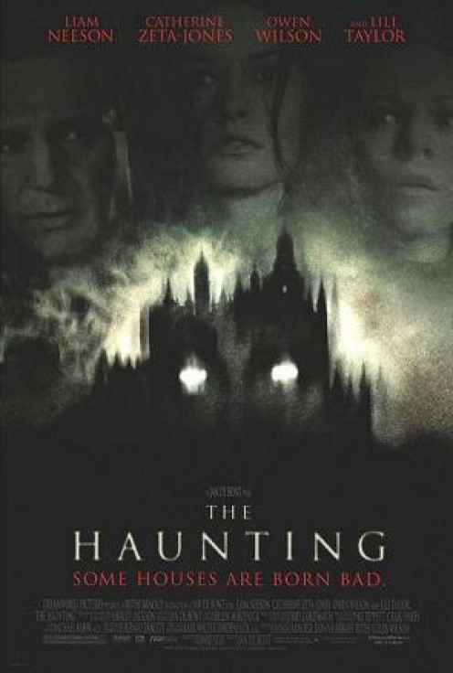 "Poster for the remake of ""The Haunting"""