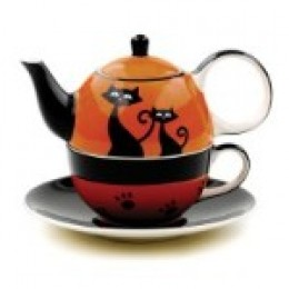 KoffeeKlatch Gals creative Halloween ensemble - kaboodle.com