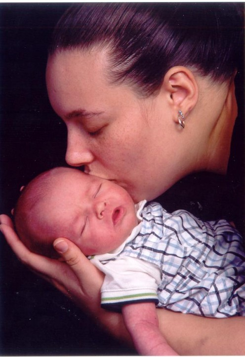 My daughter and grandson, 2007