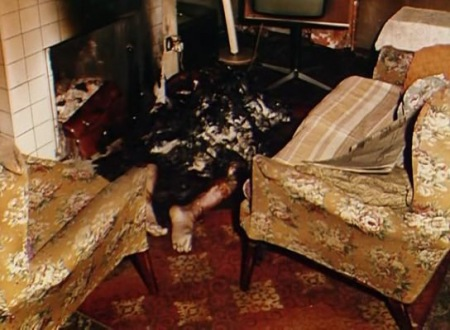 The Remains of Mr. Faherty following Spontaneous Human Combustion