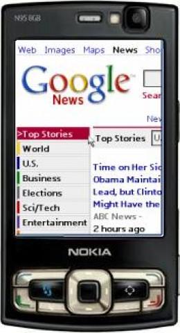 Teashark Mobile web Browser
