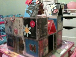 Make a CD Case Dollhouse Craft