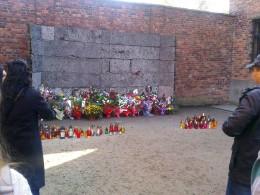 Auschwitz Commemoration Wall