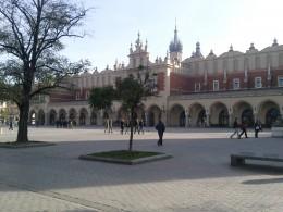 Part of Krakow's main square