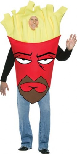 Aqua Teen Hunger Force Frylock Costume