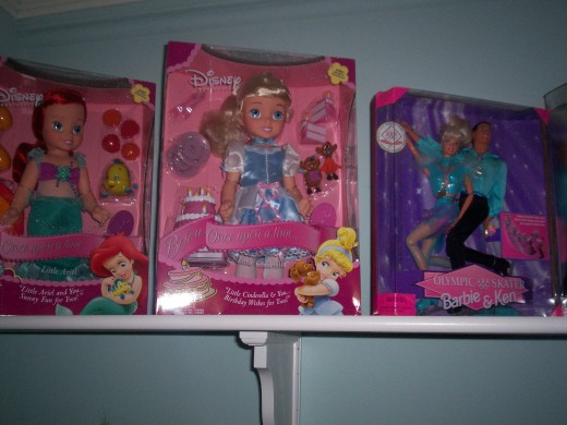 Doll Collection @ Homeplace 2011