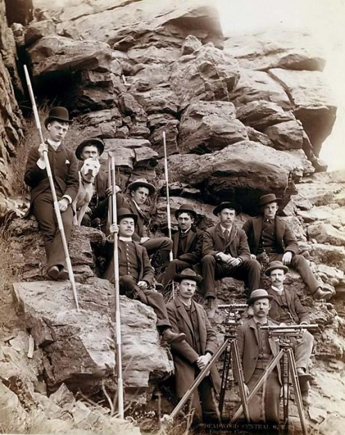 "Deadwood Central Railroad Surveyors ""No Copyright Infringement Intended."""