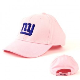 NFL New York Giants Pink Baseball Hat