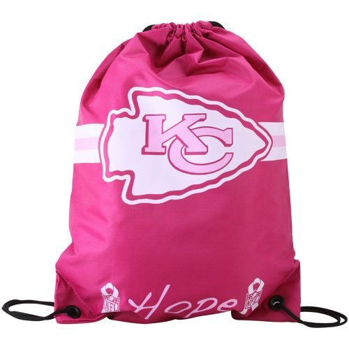 Show your support with this Hot Pink Hope NFL Kansas City Chiefs Backpack