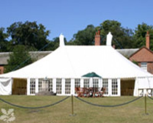 Marquee In Clumber Park