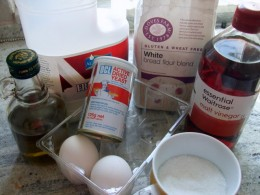 Ingredients required for gluten free bread