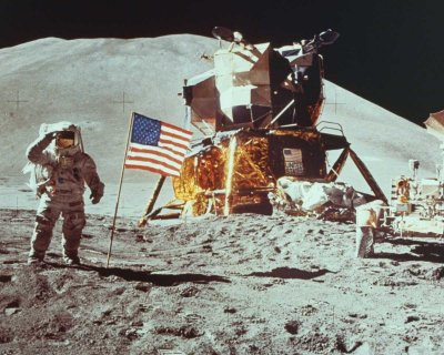 "July 20, 1969 ""One small step for man...one giant leap for mankind"""