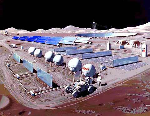 Lunar Manufacturing Facility
