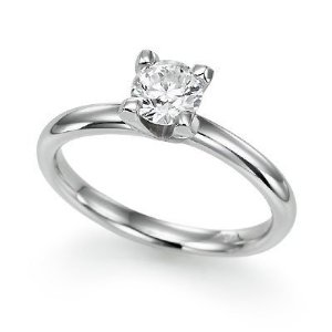A solitaire diamond ring is one of the most popular choices for engagement rings.