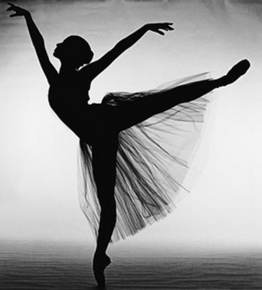 "The ""Arabesque"" is the letter ""E"" of Ballet."