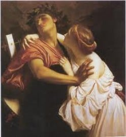 Orpheus and Eurydice. A lovestory that inspired a famous opera