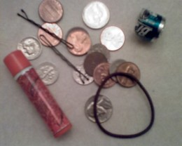 The only stuff I'm finding in my pockets.