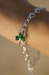 Silver Celtic Charm Bracelet from a Range at www.SeodaSiCelticJewelry.com