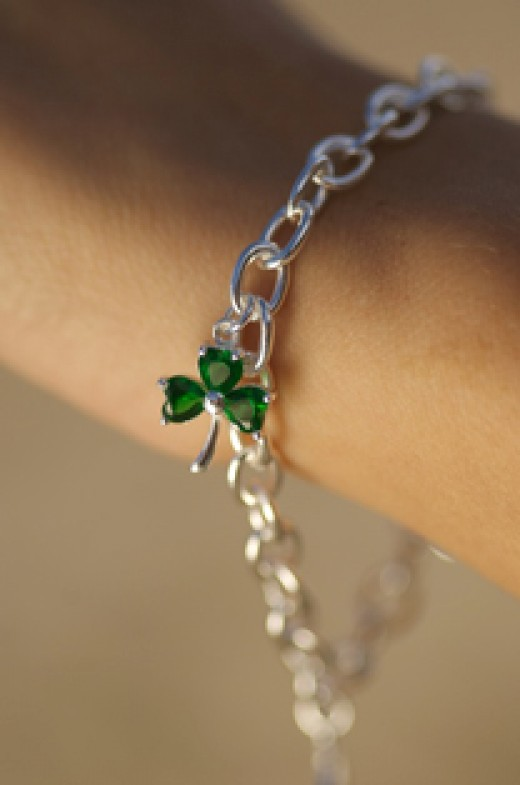 Silver Celtic Charm Bracelet from a Range at www.SeodaSiCelticJewelry.com